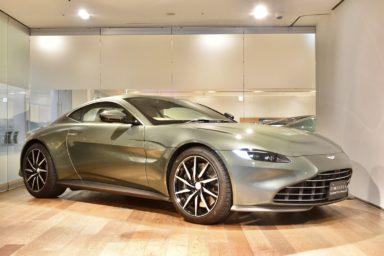2021年式 Vantage 右H チルタングリーン(Q By Aston Martin)
