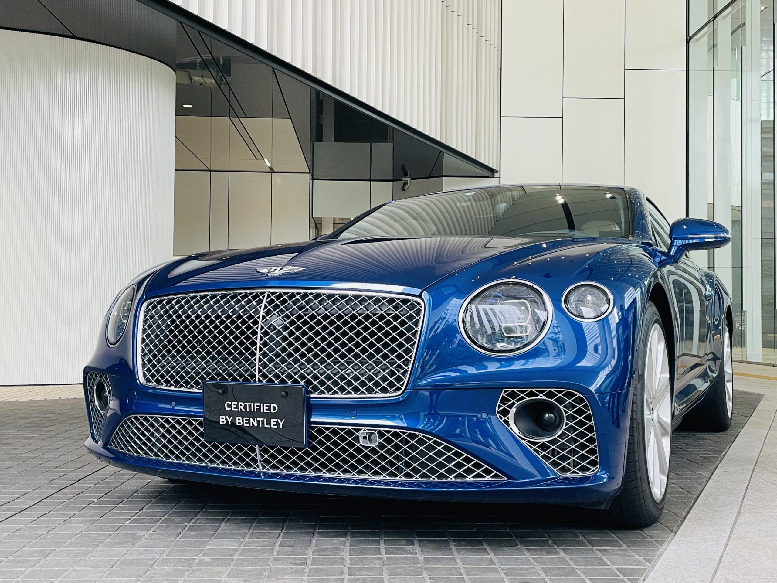CONTINENTAL GT Sequin Blue / 左ハンドル