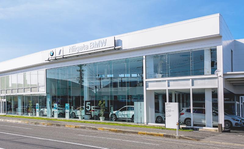 Niigata BMW 新潟ショールーム